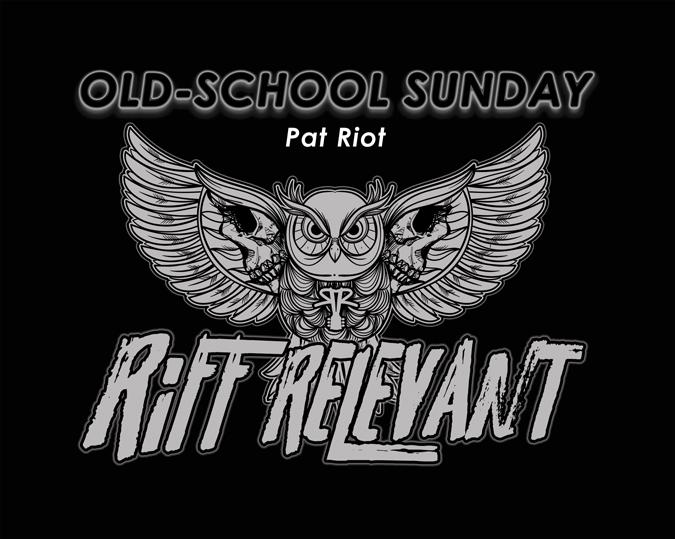 Riff Relevant Old-School Sunday Logo Image