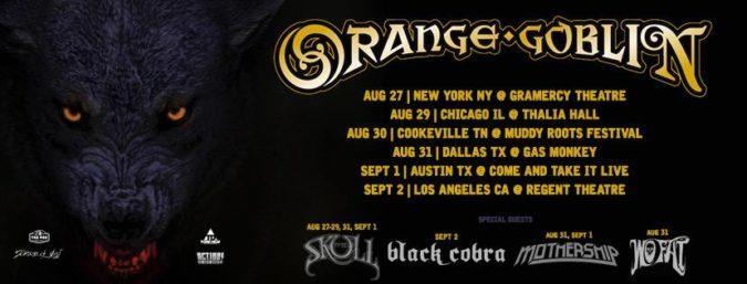 Orange Goblin Tour Banner
