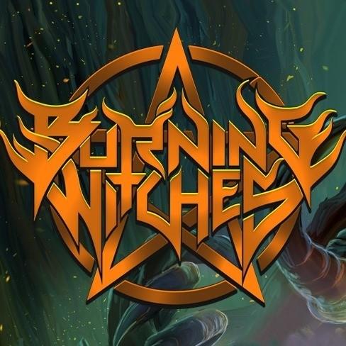 burning witches logo