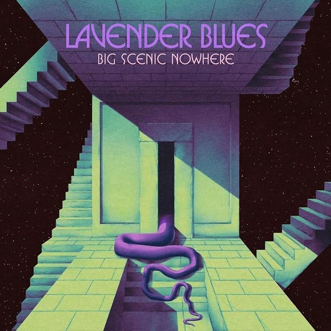 Big Scenic Nowhere Lavender Blues cover