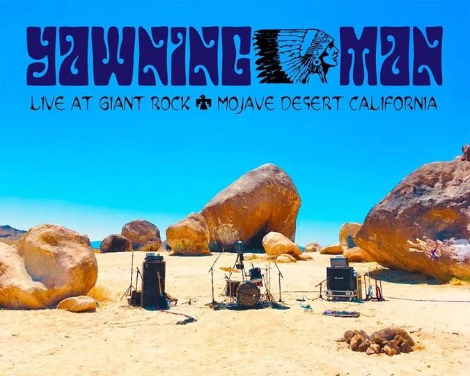Yawning Man Yawning Man Live At The Giant Rock banner