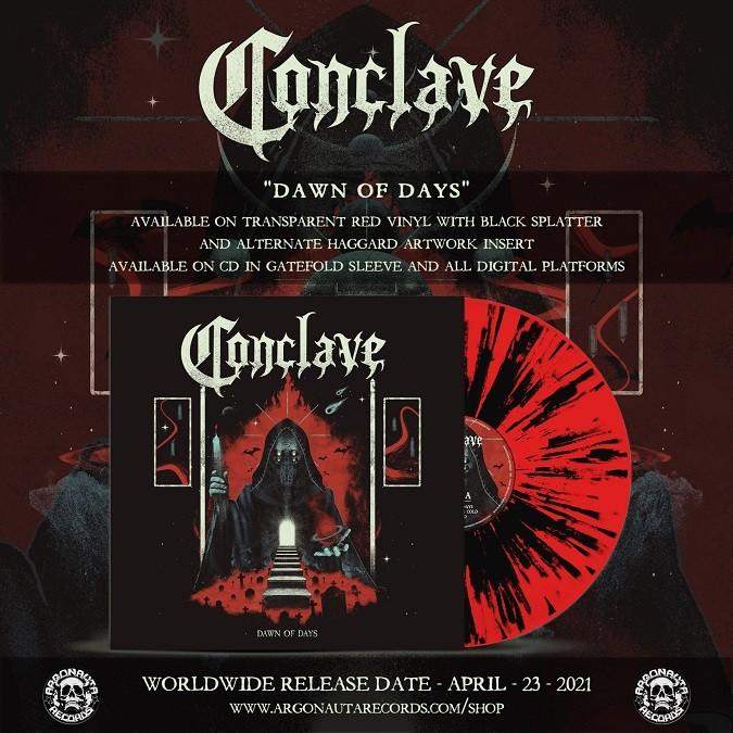 Conclave Dawn Of Days album promo