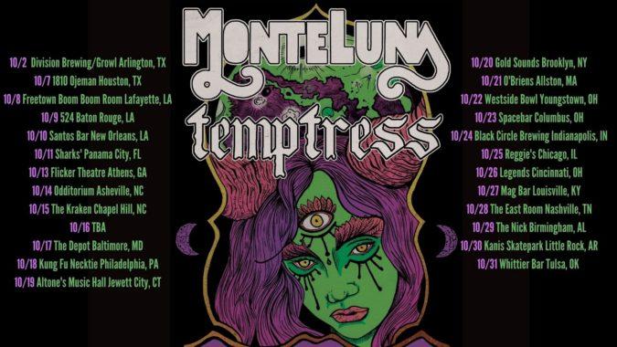 Monte Luna & Temptress Tour 2021 Poster 2