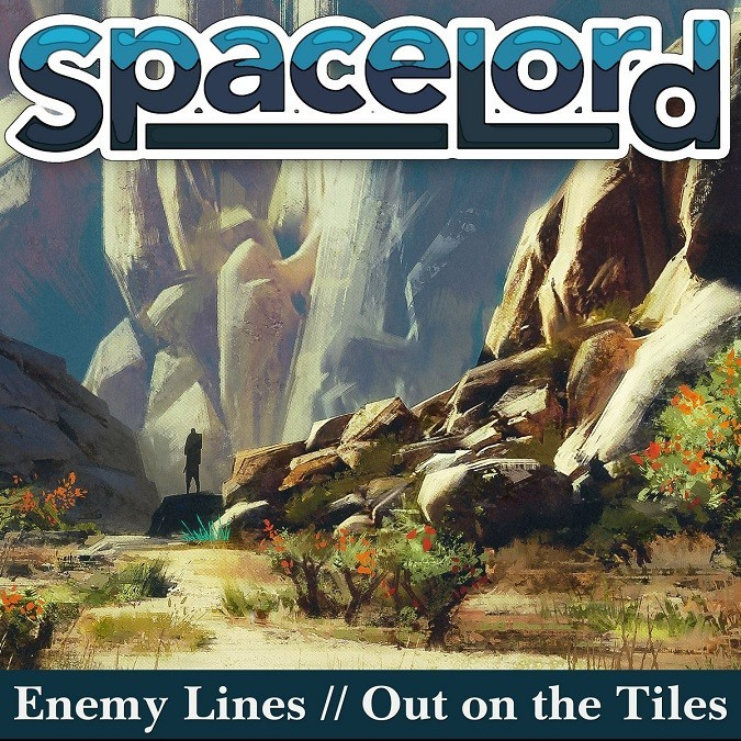 Spacelord Enemy Lines Out / On The Tiles single